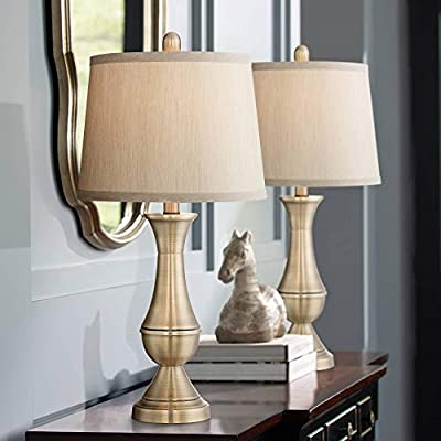 Traditional Antique Brass Table lamp