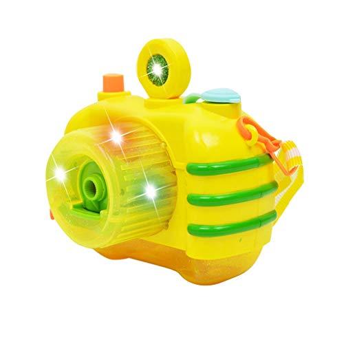 Kinderen Leuke Cartoon Batterijgevoede Automatische Camera Bubble Maker, Automatische Bubble Machine Elektrische Zeep Bubble Maker Blower Bath Outdoor Toy
