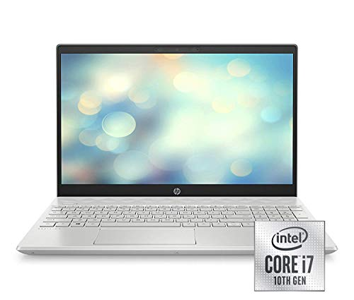 HP Pavilion 15-cs3008ng (15,6 Zoll / Full HD) Laptop (Intel Core i7-1065G7, 16GB DDR4 RAM, 512GB SSD, Nvidia GeForce GTX 1050 3GB GDDR5, Windows 10 Home) silber