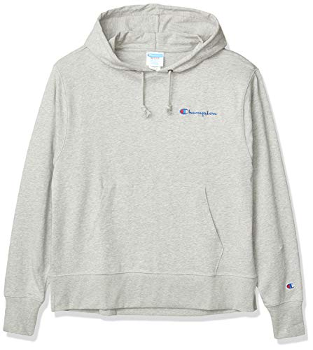 Champion LIFE Men's Jersey Hoodie, Oxford Gray, Large