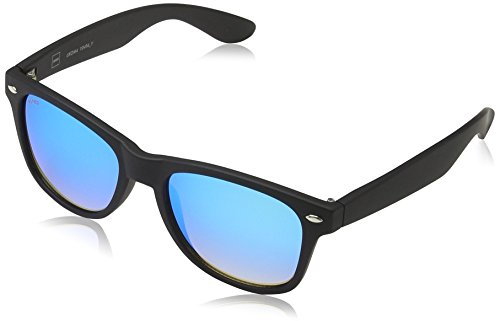 MSTRDS Jungen Likoma Youth Sonnenbrille, Schwarz (black/blue 5174), (Herstellergröße: one size)