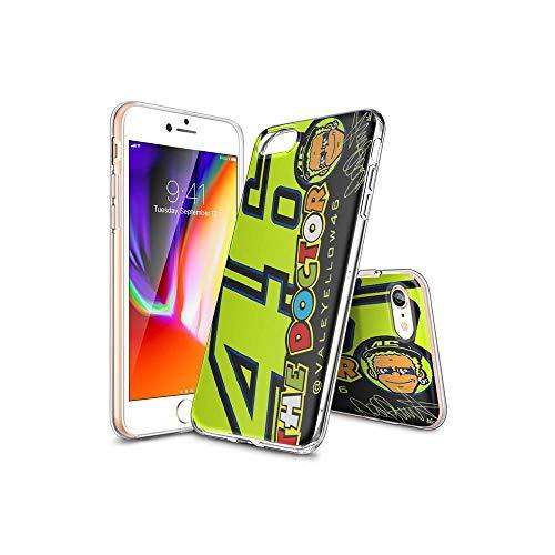 ShuTAO CC iPhone 7 Funda, iPhone 8 Funda, Ultra Slim Cárcasa Silicona Transparente con Dibujos Animados Diseño Patrón Resistente Case Cover para iPhone 7, iPhone 8#D 005