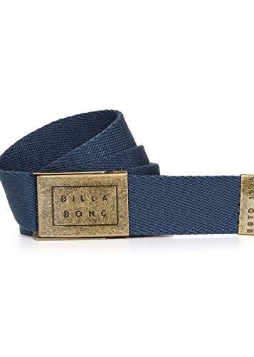 BILLABONG Cintur�n de tela de algod�n tejido abrebotellas ~ sargento azul marino