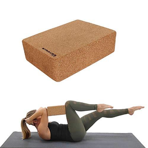 Strauss Yoga Block (Cork)