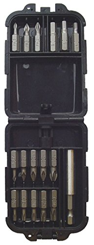 Makita P-382117 punta de destornillador - puntas de destornillador (Phillips, Torx, 1 X PH0, PH1, PH2, PZ0, PZ1, 2 X PZ2, PZ3, T10, T15, T20, T25, T30, 6 kant 4/5/6mm.)