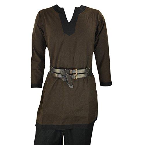 Armor Venue Mittelalter-Tunika – Kostüm Hemd LARP -  mehrfarbig -  X-Large