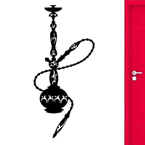 WERWN Etiqueta engomada Creativa de la Pared de la cachimba ahumada Pared árabe Musulmana decoración Fresca de la Sala de Estar