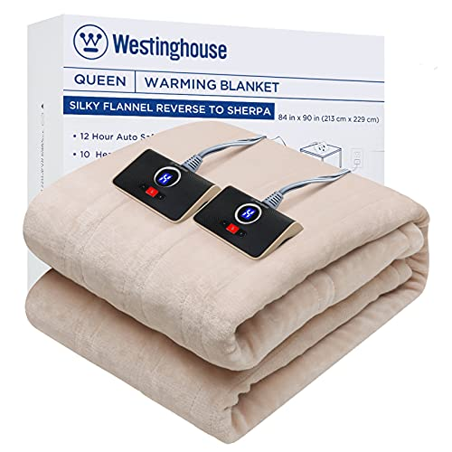 Westinghouse Electric Blanket Queen Size 84'x90'...
