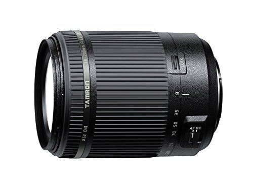 Tamron Fixed Zoom Di II All-in-One Zoom voor Sony, 18-200 mm, zwart