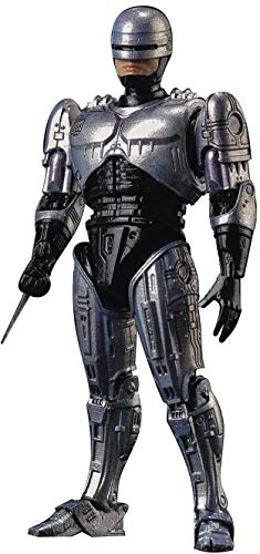 Hiya Toys Robocop (1987): Robocop 1:18 Scale Action Figure, Multicolor