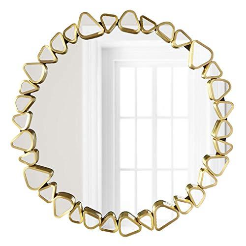 Miroirs muraux Miroirs Miroir Miroir de courtoisie Miroir de décoration Murale canapé de Salon Rond Nordique Miroir américain Miroir de Coiffeuse Miroir de Salle de Bain