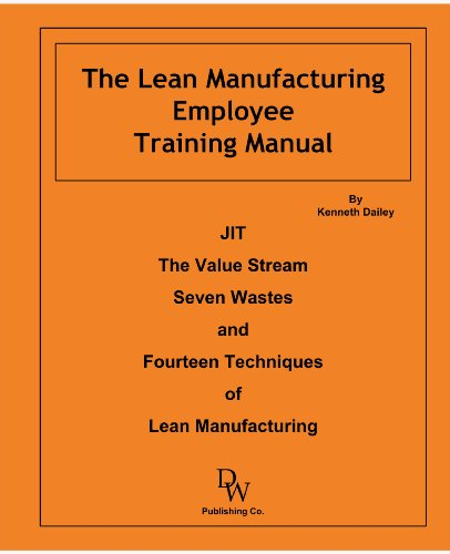 The Lean Manufacturing Employee Training Manual