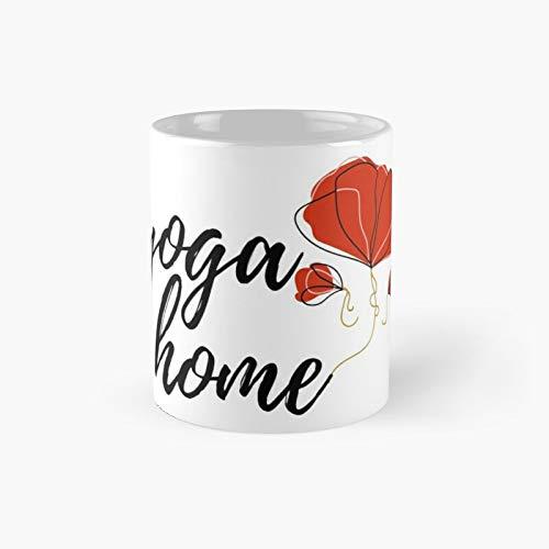 Taza clásica para yoga y meditación, ideal como regalo para café, 325 ml