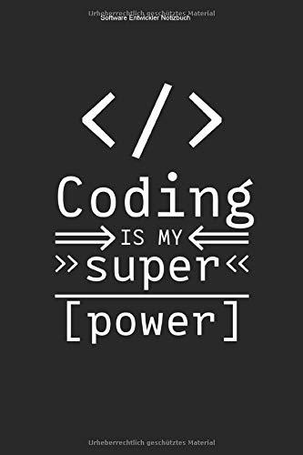 Software Entwickler Notizbuch: 100 Seiten | Liniert | Info Informatik Softwareentwicklung Coden Nerd Entwicklung Programm Computer PC IT Geschenk Beruf Geek Team