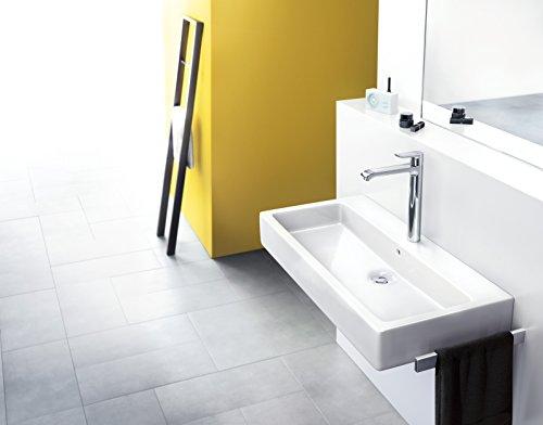 Hansgrohe – Einhebelarmatur, Waschtisch, ohne Ablaufgarnitur, ComfortZone 260, Chrom, Serie Metris - 2
