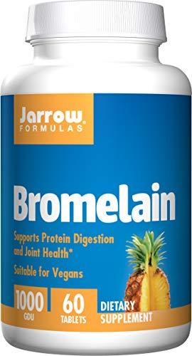 Jarrow Formulas Bromelain 1,000 500 mg Tabs, 60 ct