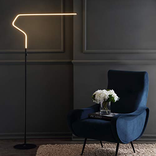 JONATHAN Y JYL7020B Julian 65.25' Integrated LED Metal Floor Lamp Minimalistic,Modern,Contemporary...