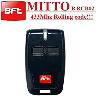 BFT Mitto B RCB02 R1 2-channel remote control, 433,92Mhz Rolling code, The New Version of BFT Mitto2. Top quality BFT B RCB02 transmitter for THE BEST PRICE!!!