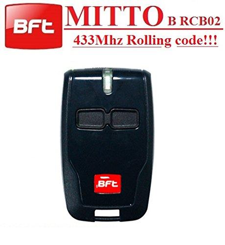BFT Mitto B RCB02 R1 handsender 2-kanal 433.92Mhz fernbedienung. Rolling code!!! Die neue Version von BFT Mitto2. Top Qualität BFT B RCB02 fernbedienung für den besten Preis!!!