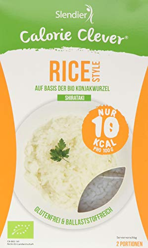 Slendier German - Organic Konjac Rice 6er Pack (6 x 400g)
