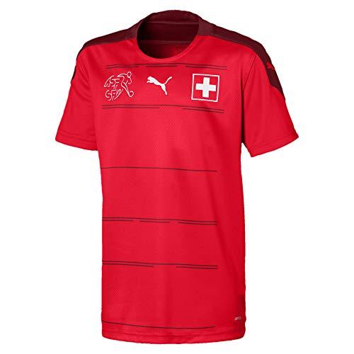 PUMA SFV Home Shirt Replica Jr, Maglia Calcio Bambino, Red/Pomegranate, 128