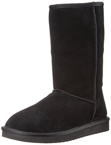 Koolaburra by UGG Women's Koola Tall Classic Boot, Black, 39 EU