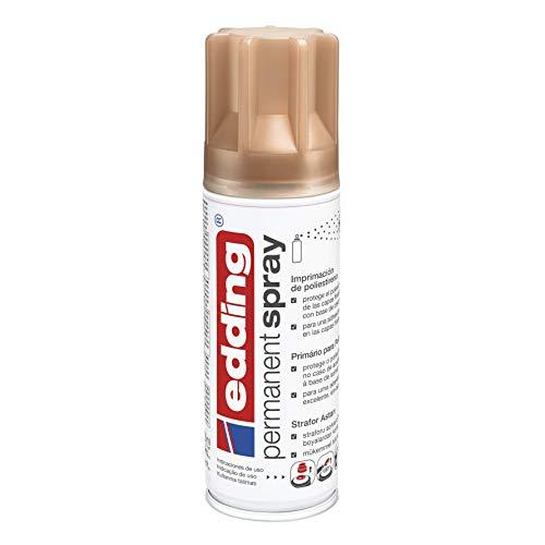 Edding 5200-997 - Spray de pintura acrílica, secado rápido sin burbujas para poliestireno, color Marfil mate (RAL 1015), 200 ml