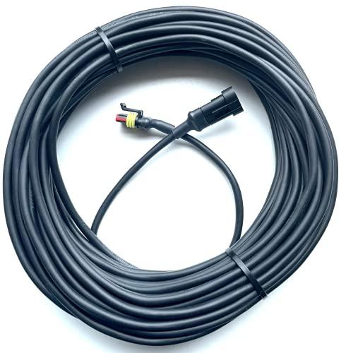 Timbera Robótico Cortacésped Fuente de alimentación Cable de Baja tensión para la estación de Carga para Husqvarna AUTOMOWER – 310, 315, 320, 330x, 420, 430x – (30 Metros)
