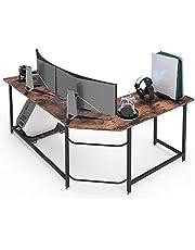 Vordern Large L Shaped Desk Corner Computer Desk Gaming Table Workstation for Home Office
