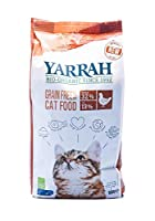 SPOIL YOUR CAT WITH THE TASTIEST CAT FOOD: If you are looking for a healthier, more delicious and nutritious food, look no further! The YARRAH premium organic cat food is here to surprise your cat with its paw-licking flavor and immense nutritional v...