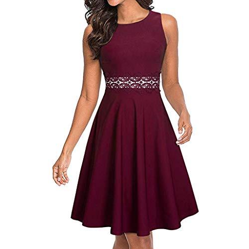 Slyar Mujer Vestidos Elegant Slim con Encaje de Una Forma Mujer Nuevo Vestidos 2019 para Vestidos de Fiesta Mujer Cortos Elegantes