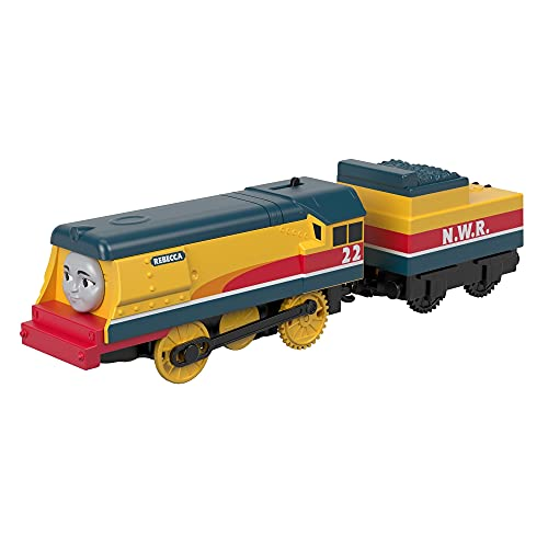 Thomas & Friends Rebecca GDV30, Thomas The Tank Engine & Friends Trackmaster Motorizado Train Engine, Multicolor