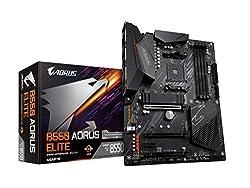 GIGABYTE B550 AORUS Elite (AM4 AMD/B550/ATX/Dual M.2/SATA 6Gb/s/USB 3.2 Gen 2/2.5 GbE LAN/Realtek ALC1200/HDMI/DP/PCIe4.0/DDR4/Gaming Motherboard)