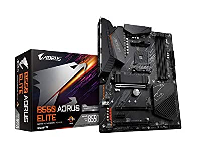 GIGABYTE (AM4 AMD/B550/ATX/Dual M.2/SATA 6Gb/s/USB 3.2 Gen 2/2.5 GbE LAN/Realtek ALC1200/HDMI/DP/PCIe4.0/DDR4/Gaming Motherboard)