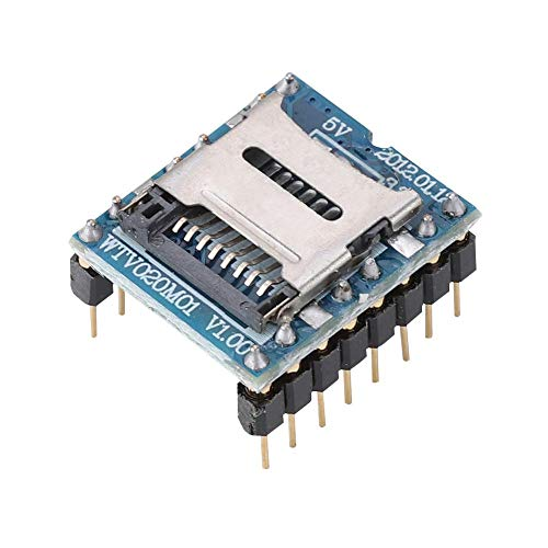 Spraakmodule, mini-MP3-speler-module audio-voice-board-ondersteuning Memory Card Game Machine Spraakmodule.