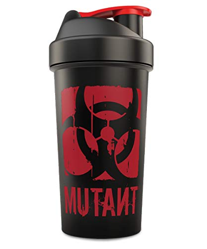 MUTANT Nation Black Shaker Cup Official Blender Cup - Leak prove - eco-friendly - 800 ML