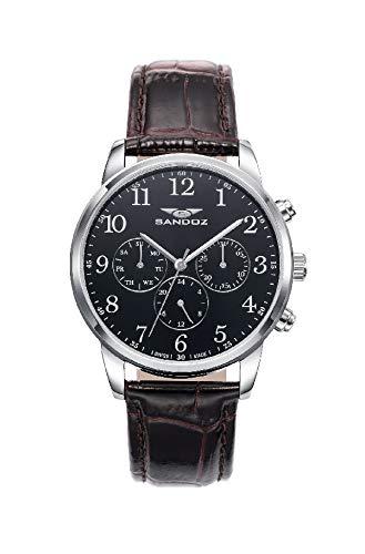 Sandoz 81441-55 - Orologio svizzero da uomo