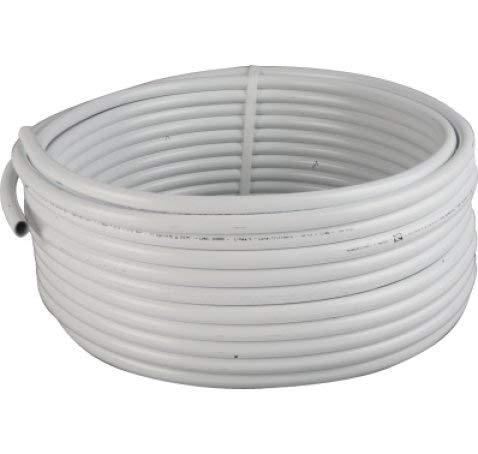 Suinga 25 m TUBERIA MULTICAPA FONTANERIA 20MM EXTERIOR. Espesor 2 mm. Presión máxima 10 bar. Ideal para ACS (Agua Caliente Sanitaria) soporta hasta 90º C.