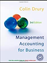 Management Accounting for Business Decisions by Colin Drury (2005-01-01)