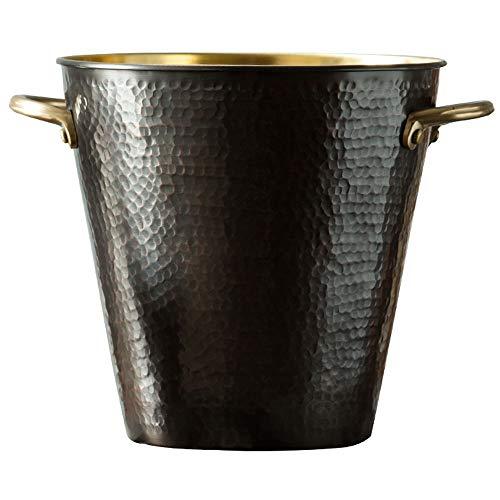 RXM Champagner Eiskübel Dekoration Dekoration Pure Copper Wine Bar Bierfass (Size : 7.9x7.7in)