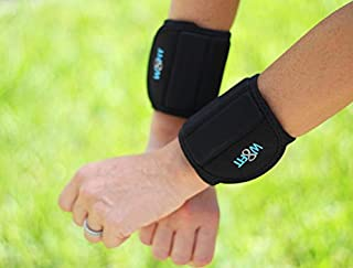W8FIT Wrist Weights Slim Adjustable Strap and Weights