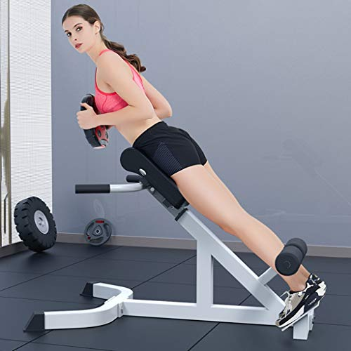 Sixpi Bench Roman Chair Back Hyperextension/ Weight Bench Fitness Equipment, Sit up Bench, Decline Bench, Adjustable Bench Strength Back Muscle Training Machines Waist Exercise【US Stock 】