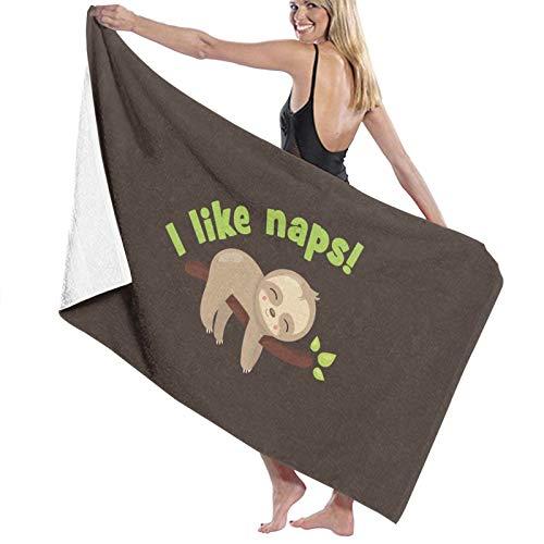 U/K I Like Naps! Toalla de baño de secado rápido