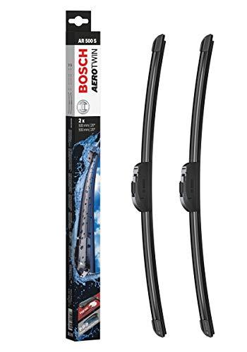 Bosch AR500S Scheibenwischer Aerotwin Retrofit, Länge: 500/500 mm – 1 Set für Frontscheibe