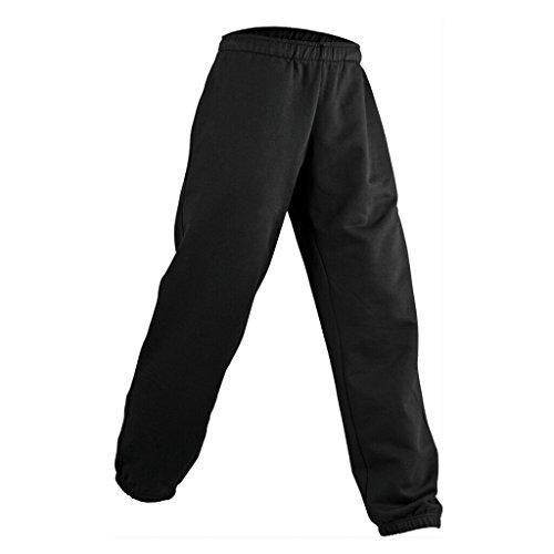 James & Nicholson Jogginghose aus formbeständiger Sweat-Qualität (M, Black)