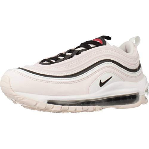 Nike Air Max 97 Damen-Freizeitschuhe, (Light Soft Pink/Summit White/Gym Red/Black), 36.5 EU