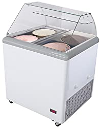 Chef's Exclusive Commercial Frost Free Ice Cream Freezer