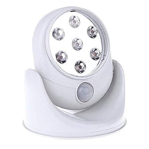 リタプロショップ? LED6灯搭載 360度回転 人感センサーライト スタンド式 照明