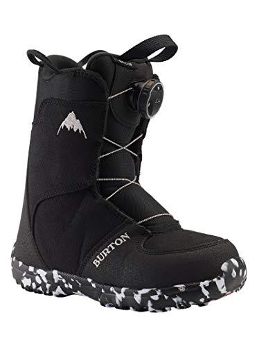 Burton Grom Boa - Botas de Snowboard para niño, Color Negro