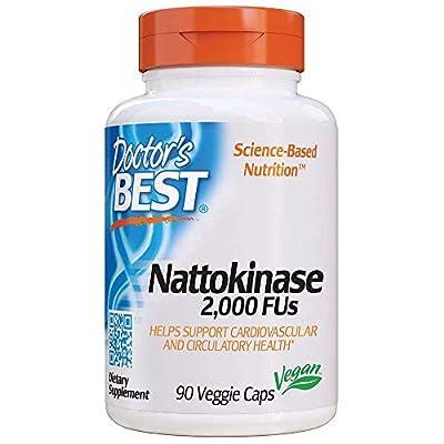 Nattokinase - 2, 000 FU of Enzyme, Supports Heart Health,Circulatory,Normal Blood Flow, Non-GMO, Gluten Free, Vegan, 90 VC - 1